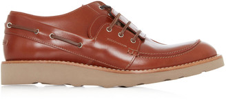 Maison Margiela Hurricane Leather Boat Shoes