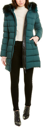 Mackage Calla-X Leather-Trim Down Coat