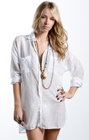 Charade Button Down Tunic