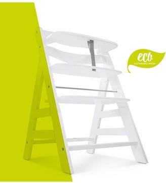 Hauck Alpha+ Wooden Highchair - White