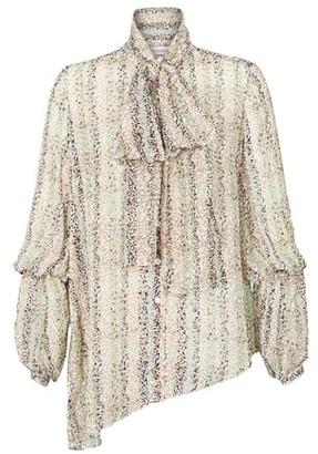 J.W.Anderson Neck tie draped blouse