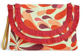 Vera Bradley Summer-Splash Fringed Wristlet