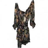 For Love & Lemons Multicolour Silk Dress for Women