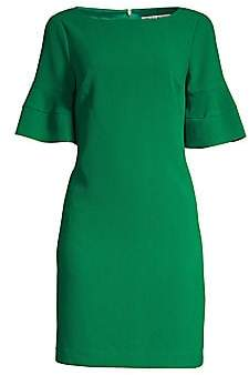 Trina Turk Women's Sojourn Bell Cuff Shift Dress