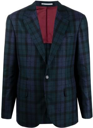 Brunello Cucinelli Tartan Blazer Jacket