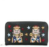 Dolce & Gabbana king patch wallet
