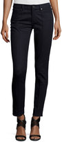 Elie Tahari Azella Pintucked Skinny Jeans, Dark Knight Wash
