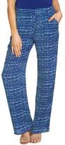CeCe Women's Print Wide Leg Pants