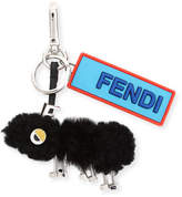Fendi Shearling Ant Charm for Bag or Briefcase