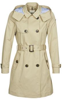 Esprit CLASSIC TRENCH women's Trench Coat in Beige