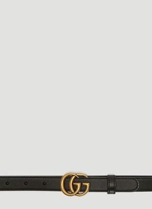Gucci GG Marmont Skinny Belt