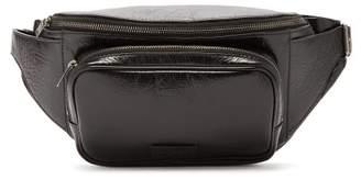 Saint Laurent Leather Cross Body Bag - Mens - Black