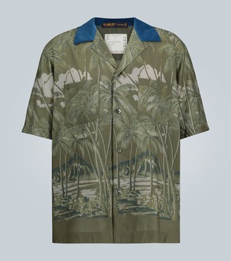 Sacai Sun Surf Diamond Head shirt