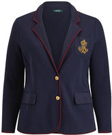 Ralph Lauren Woman Bullion-Crest Sweater Blazer