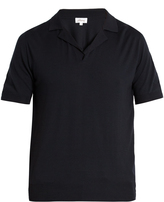 Brioni Short-sleeved wool polo shirt
