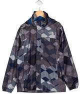The North Face Boys' Printed Windbreaker Jacket