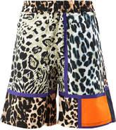 Pierre Louis Mascia Pierre-Louis Mascia leopard print shorts