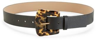 B-Low the Belt Cece Tortoiseshell-Look Leather Belt