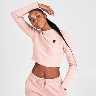 Fila Women's Hamiska Crop Long-Sleeve Top
