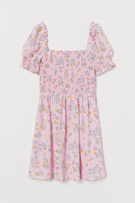 H&M Smocked Dress - Pink