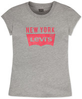 Levi's New York Graphic-Print T-Shirt, Big Girls (7-16)