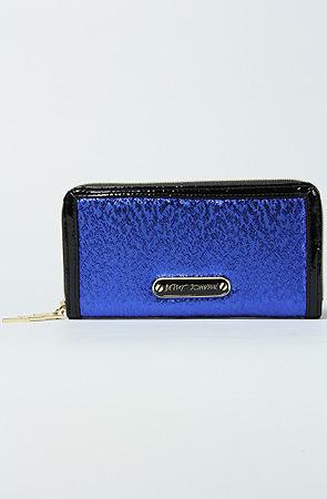 Betsey Johnson The Lightning Strikes Wallet in Blue