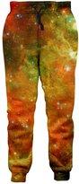 RAISEVERN Galaxy Nebula Sweatpants Joggers Sportswear Pants Trousers for Men