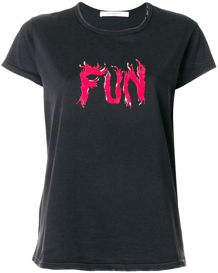 Givenchy Fun print T-shirt