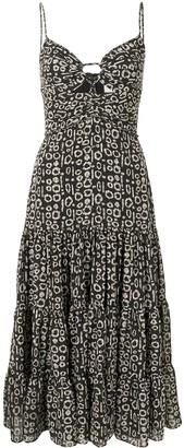 Alexis Jenay printed dress