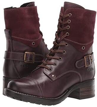 Taos Footwear Crave (Black) Women's Zip Boots