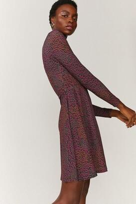 Coast Printed Wrap Dress