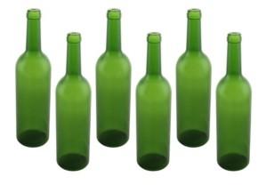Orient Three Star Plastic Wine Bottles 6 Piece Set