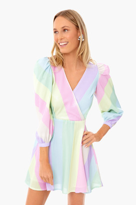 Olivia Rubin Neopolitan Stripe Amber Dress