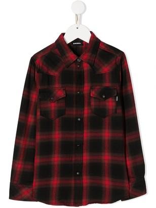 Diesel Plaid Shirt