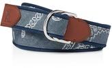 Polo Ralph Lauren Bandanna Print Webbed Belt