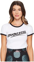 House of Holland Shameless Shrunken T-Shirt