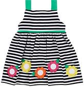 Florence Eiseman Infants' Striped Stretch-Cotton Dress & Bloomers