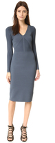 Narciso Rodriguez Long Sleeve Knit Dress