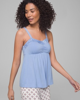 Soma Intimates Cool Nights Signature Lace Soft Support Sleep Cami