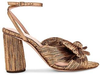 Loeffler Randall Camellia Knot Heeled Sandal