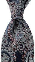 Hart Schaffner Marx Full Paisley Traditional Silk Tie