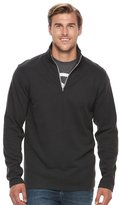 Izod Big & Tall Advantage Performance Quarter-Zip Fleece Pullover