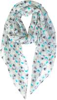 GERINLY Cute Sheep Wrap Scarf Lightweight Animal Print Womens Scarves