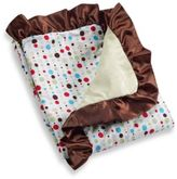 Caden Lane Classic Collection Blanket in Red Dot Line Ruffle