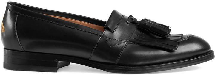 Gucci Queercore fringe loafer