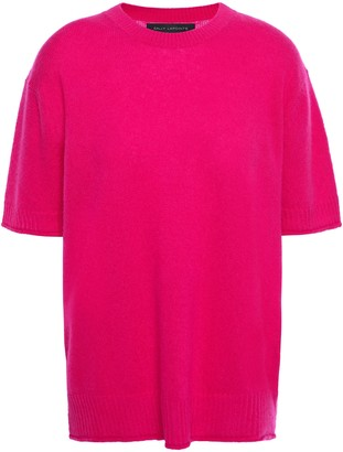 Sally LaPointe Cashmere And Silk-blend Top