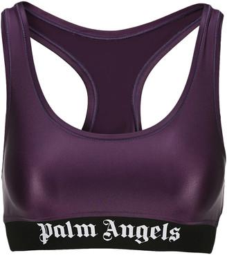 Palm Angels Classic Logo Sport Bra