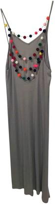 Pitusa Grey Cotton Dress for Women