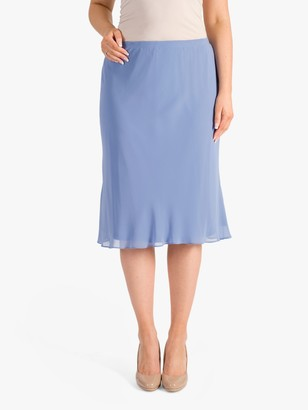 Chesca Chiffon Skirt, Bluebell