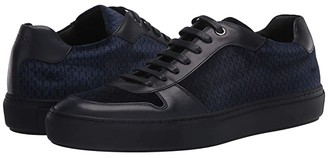 HUGO BOSS Mirage Low Top Velvet Sneaker by BOSS (Dark Blue) Men's Shoes